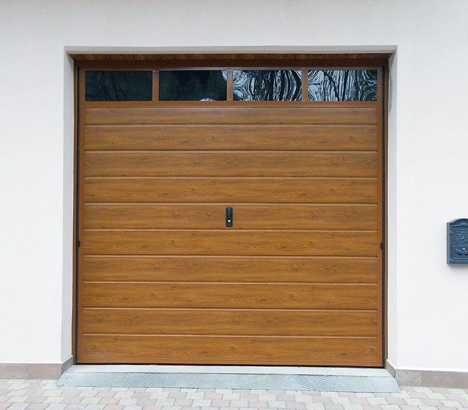 Portoni garage basculanti - Portoni garage con finestre ...